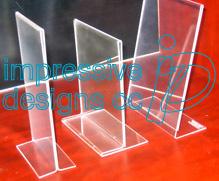 Impressive Designs Quality Perspex Products Print Sign Menu - Restaurant table talkers